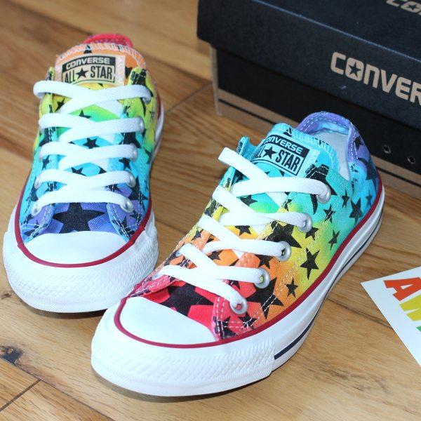 Rainbow star converse