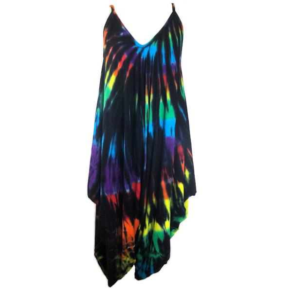 black rainbow jumpsuit
