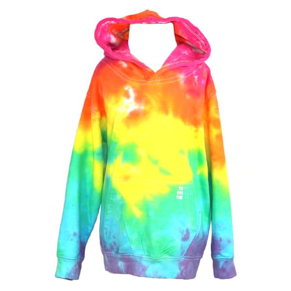pale rainbow scrunch